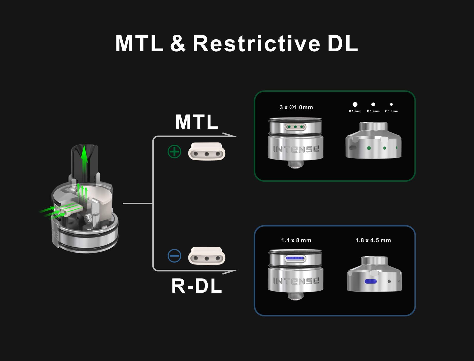 Damn Vape Intense MTL Mesh RDA 24mm Intense-RDA-A5